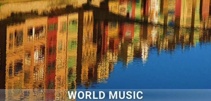Playlist artwork World music // Countries