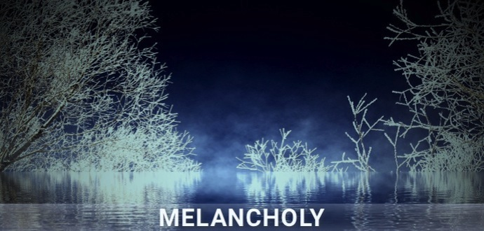 Playlist artwork Melancholy // Sadness